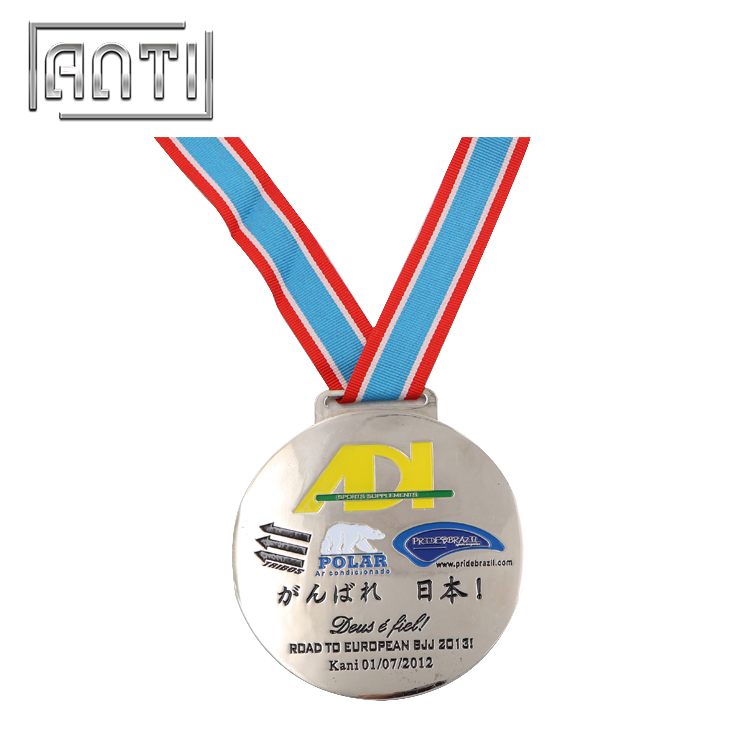 High Quality Japanese Sport Medal Customized Sport Medal Nickel Medal