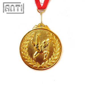Customized Sport Medal Gold Medal for Wrestling 3D Made Medal