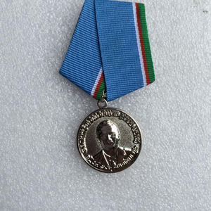 3D Portrait Award Medal Gold Medal Custom Competition Medal