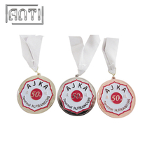 New Designed Gold Sport Medal Silver Medal Custom Gold Medal for Judo