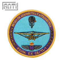 Durable Astronaut Embroidered Patches Wholesale Embroidery Patch with Patten for Clothing