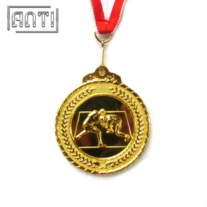 Hot Selling 3D Boxing Award Silver Medal Gold Medal Custom Sport Medal