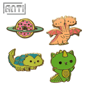 Custom Cartoon Badge Enamel Lapel Pins Cute Badge for Kids