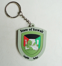 Custom Design High Quality PVC Key Chain for State of Kuwait