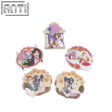 PVC texture cute and beauty princess stickers