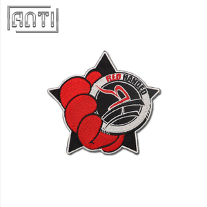 Cartoon Embroidery Patches for Jackets Red Handed