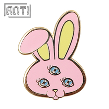 Three-eyed Rabbit Cartoon Badge Lapel Pin Children