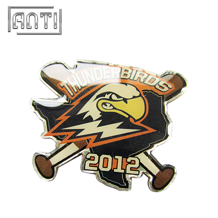 Custom Lapel Pin Design Eagle Badge